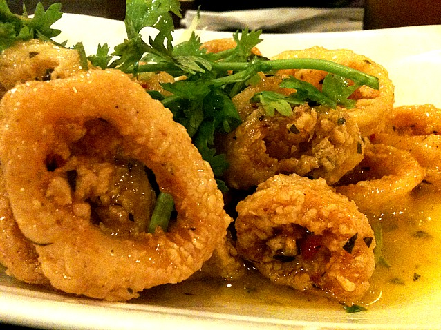 Thai Fried Calamari with butter