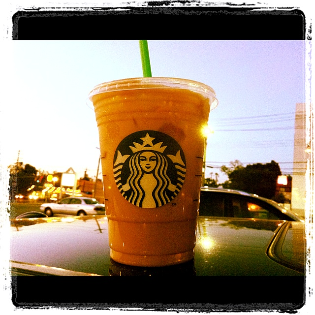 Toffee Nut Iced coffee