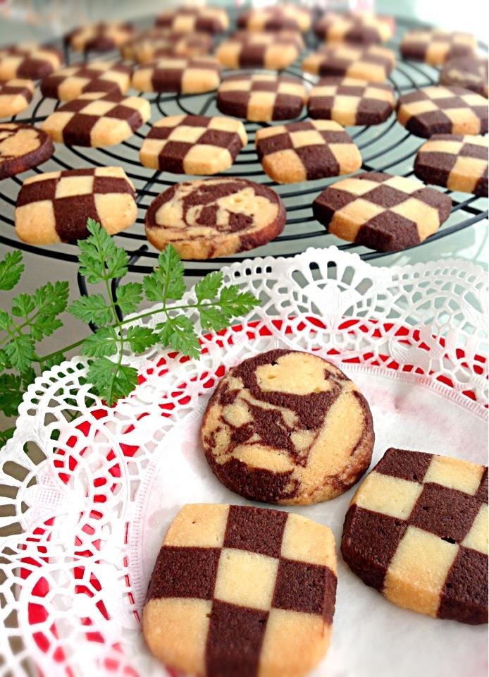 マーブル クッキー