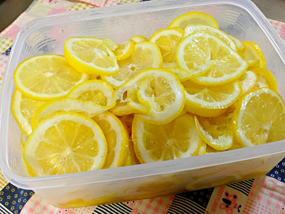 レモン 砂糖 漬け