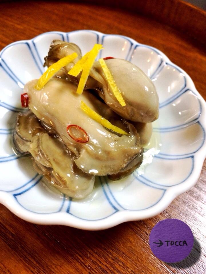 の オイル 漬け 牡蠣