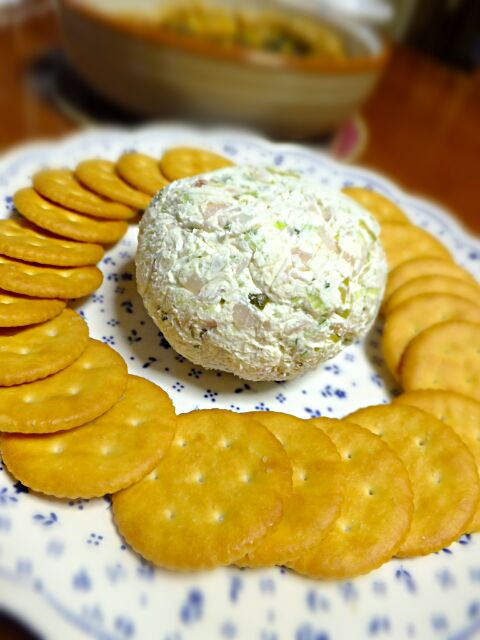 party cheese ball  チーズボール