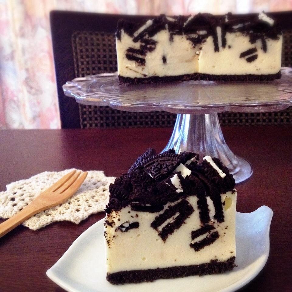 オレオ チーズ ケーキ