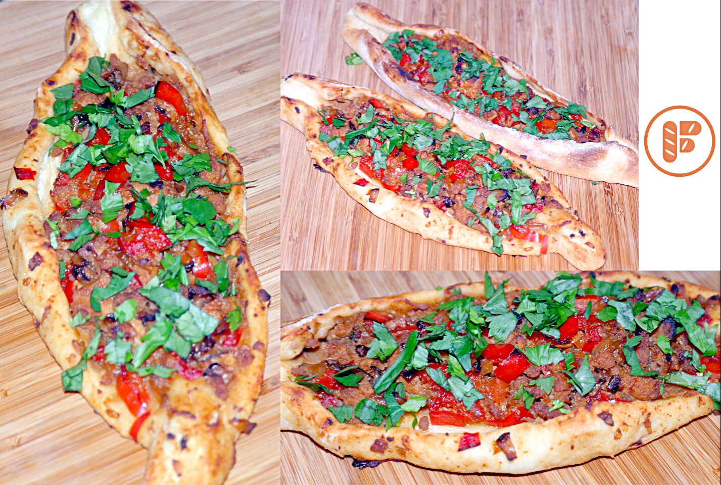 Turkish Pide with a Chinese Twist