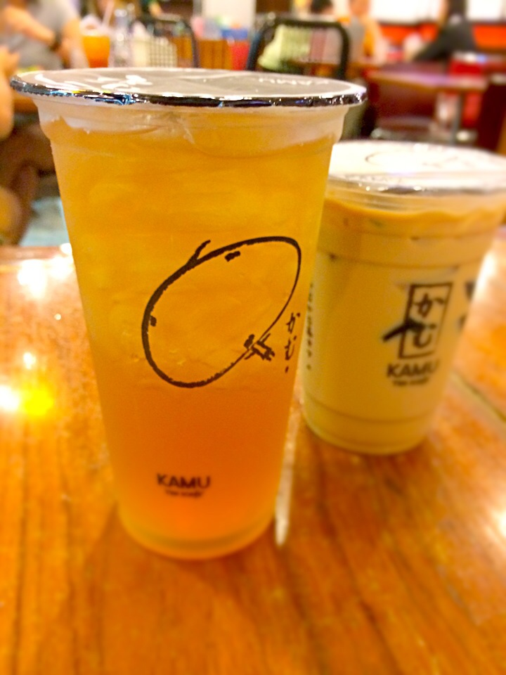 Kamu tea with special price(buy 1 free 1) @ Fortune town, BKK.