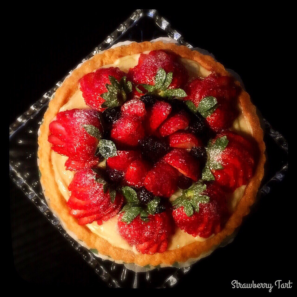 🍓strawberry tart🍓