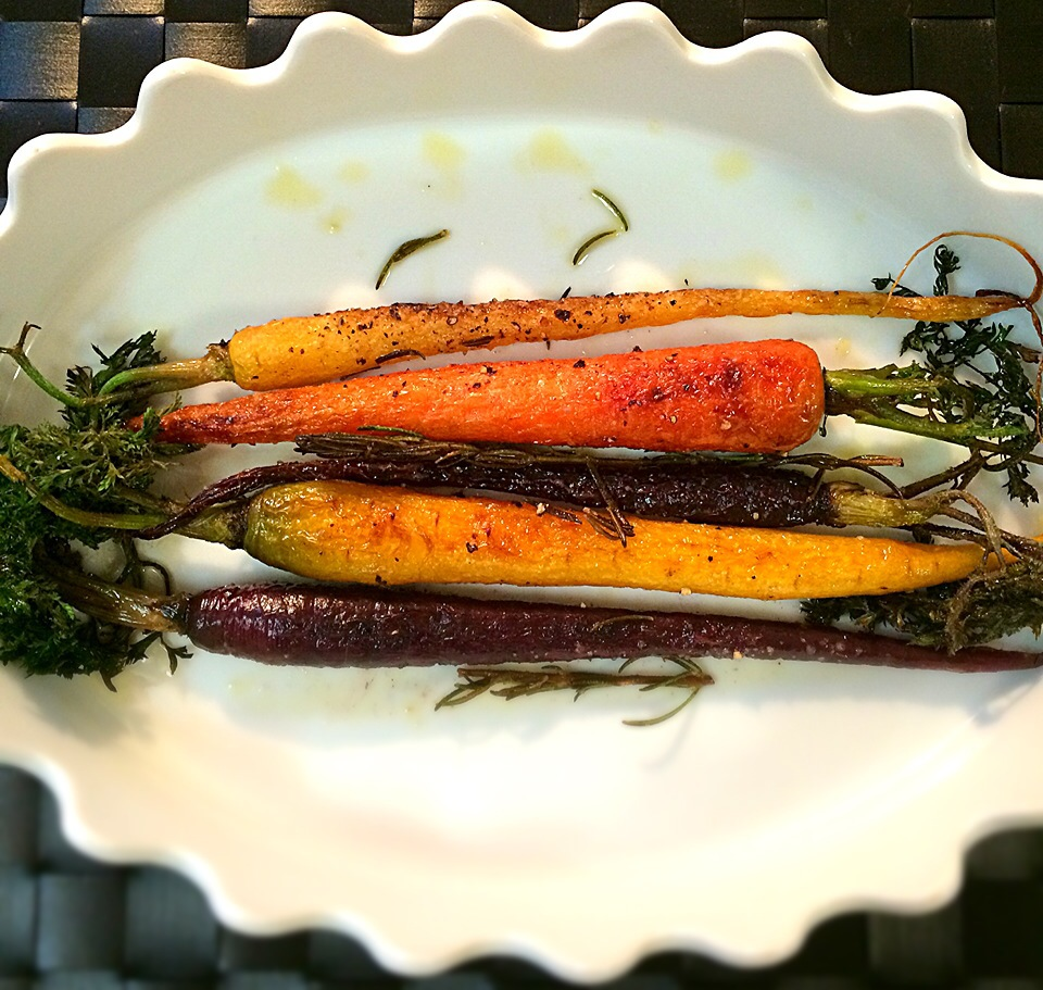 OMさんの料理                    Grilled carrot/人参のグリル