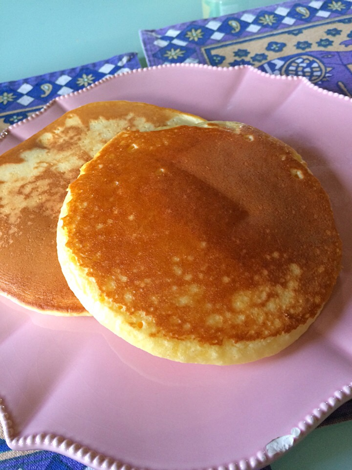 Saturday morning pancakes