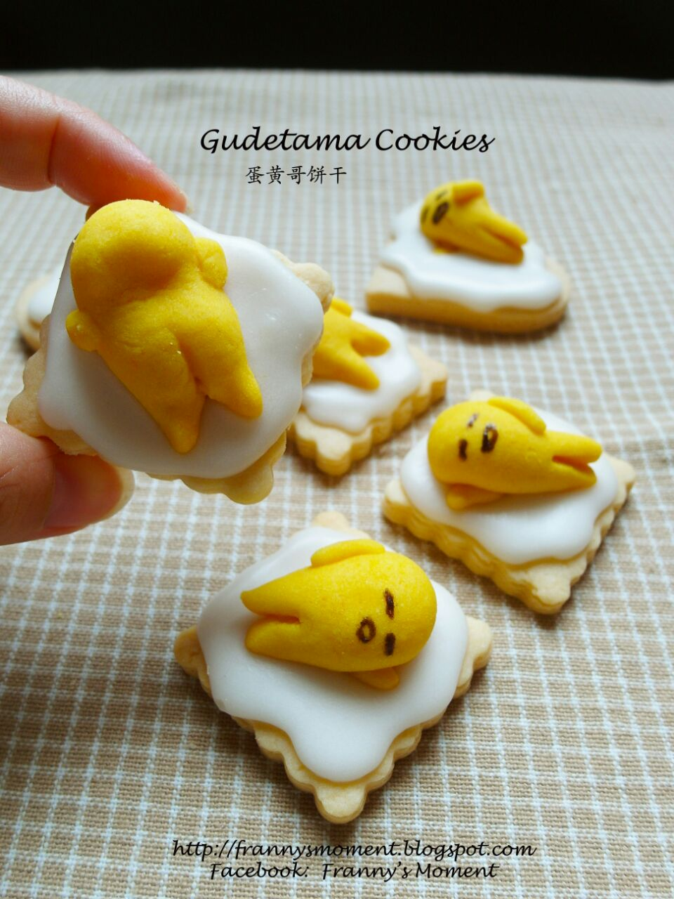 Gudetama Cookies .... LoL ...