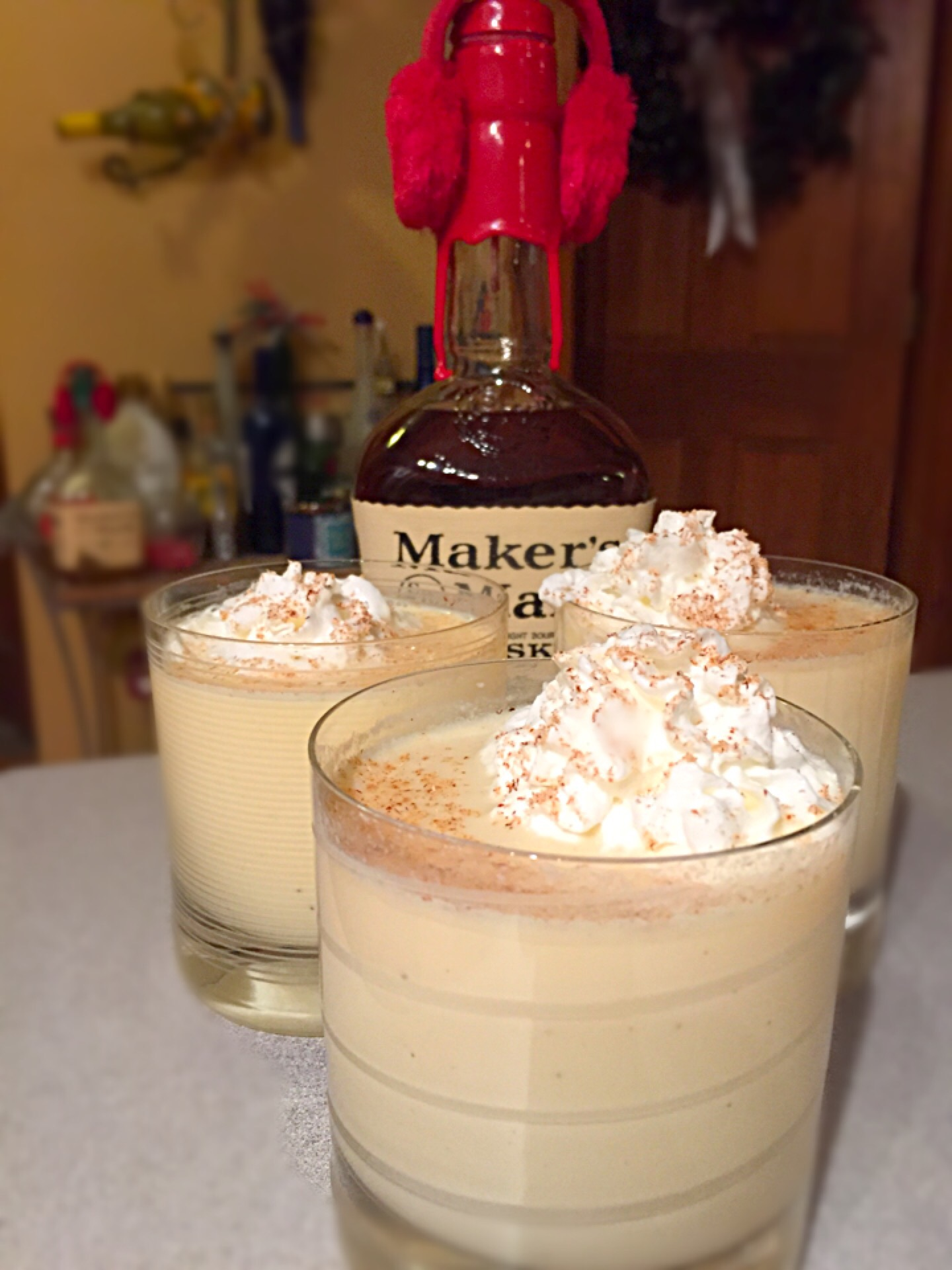 Makers Mark Eggnog!