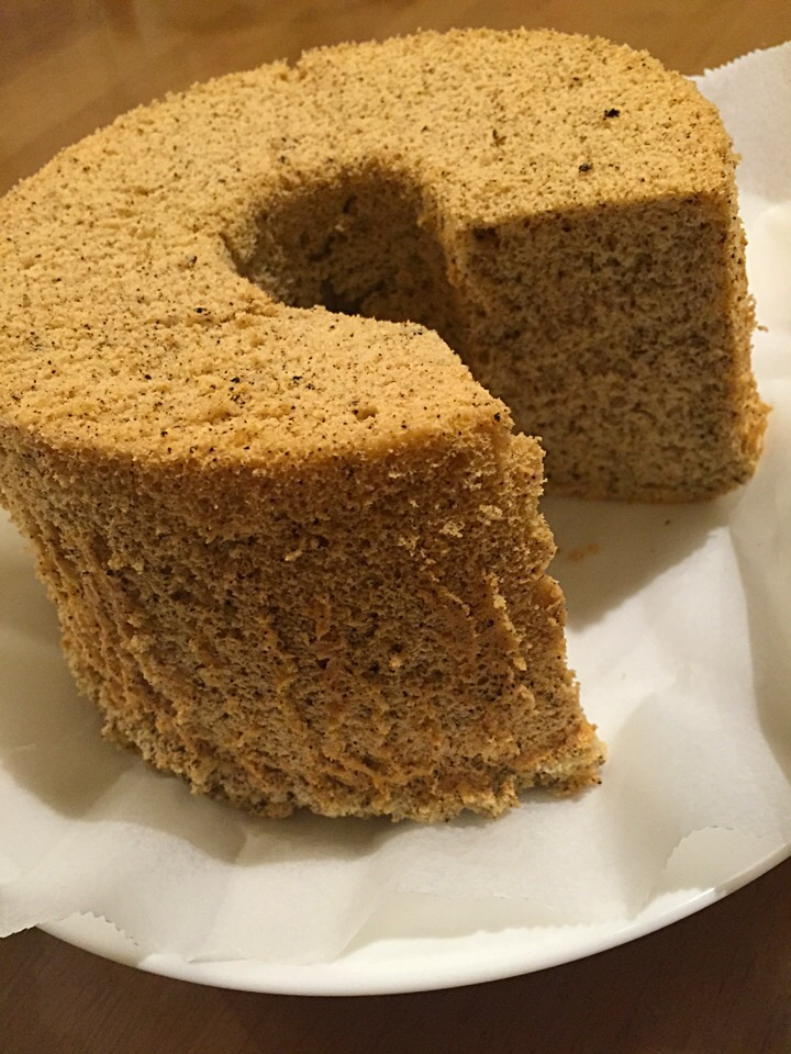 ケーキ 紅茶 シフォン