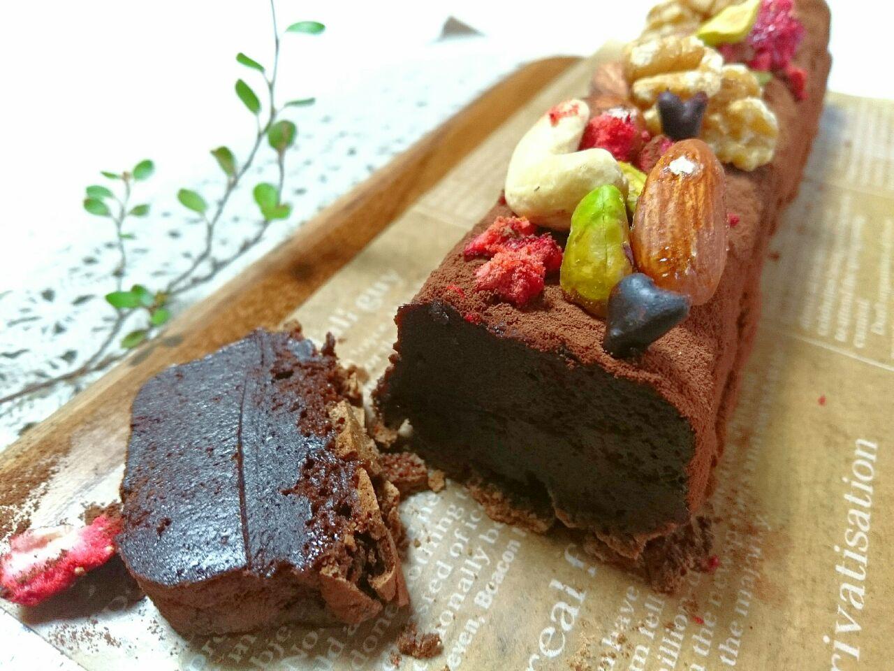 テリーヌ チョコ チョコテリーヌ人気レシピ!濃厚とろける!本格カフェの味の作り方