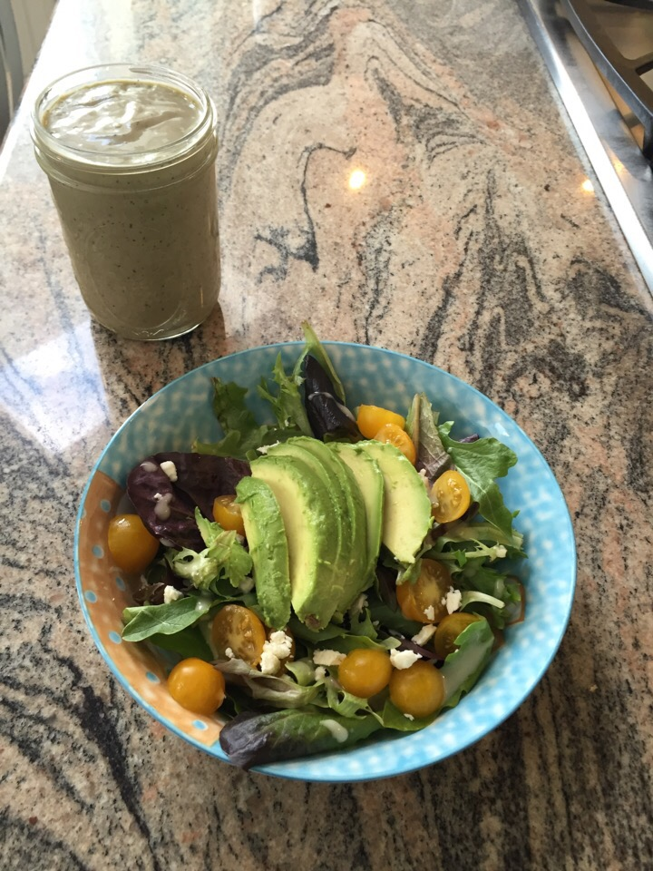 Smoothie + Salad