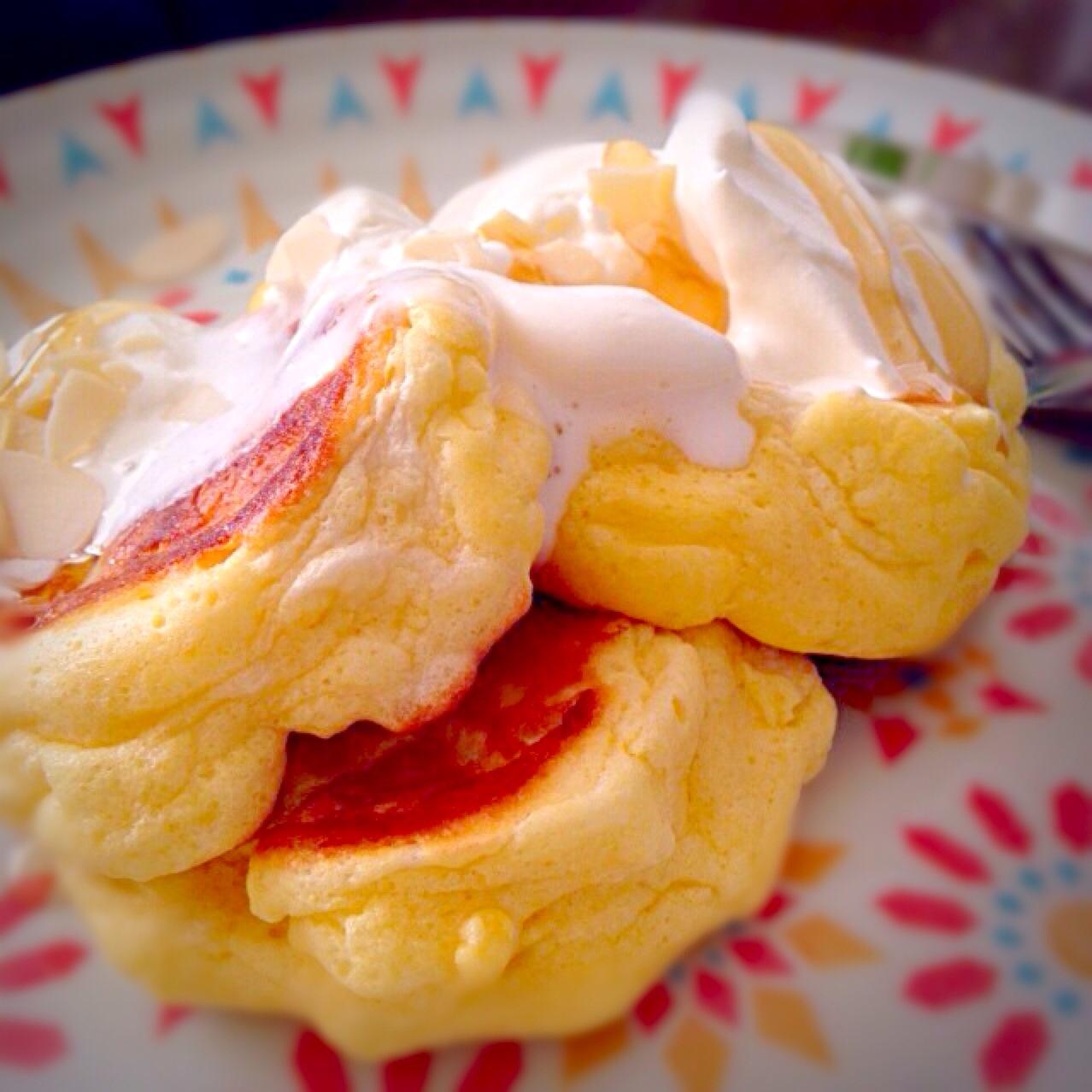 幸せ の パン ケーキ レシピ