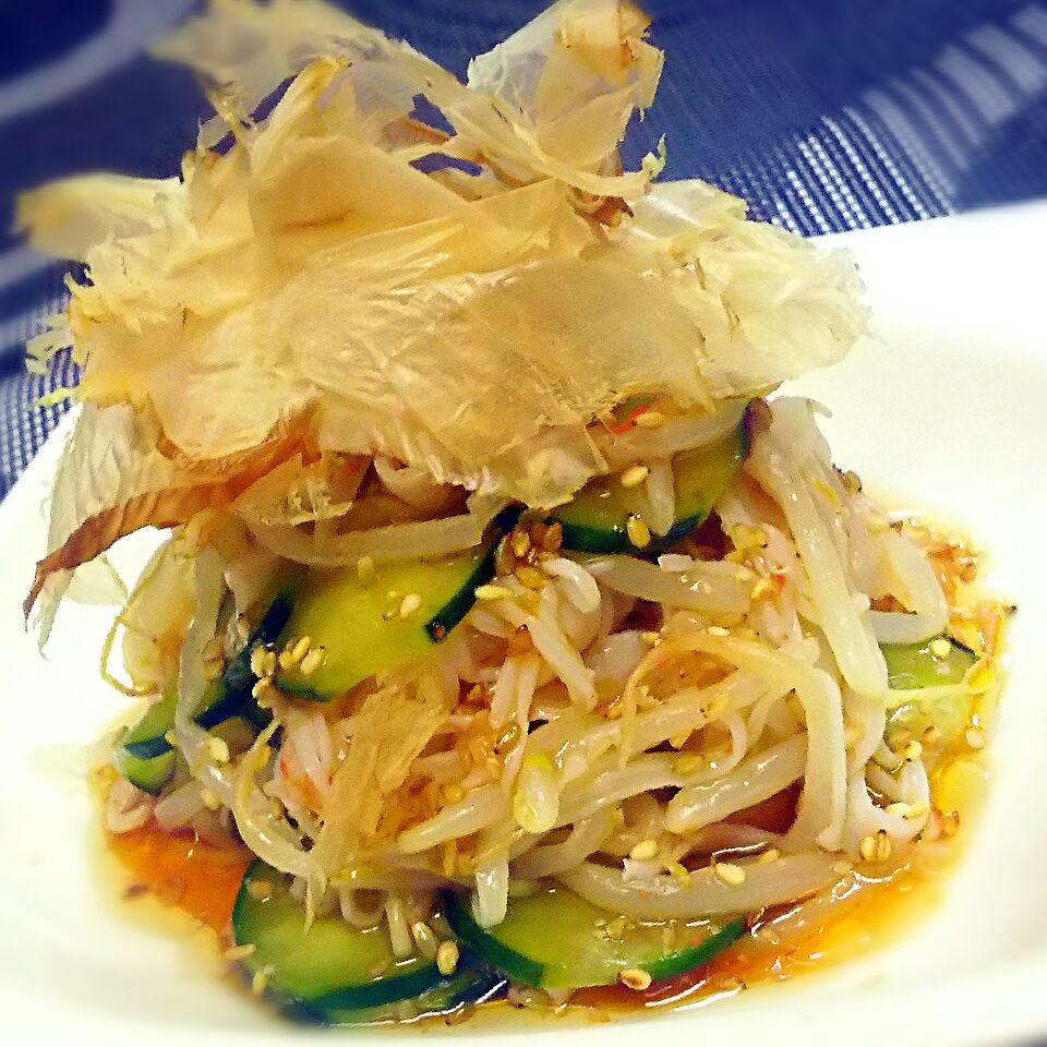 カニカマ きゅうり サラダ