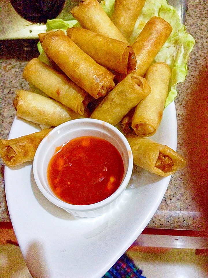 Lumpia 😀 #myversion 👏🏻👏🏻👏🏻❤️