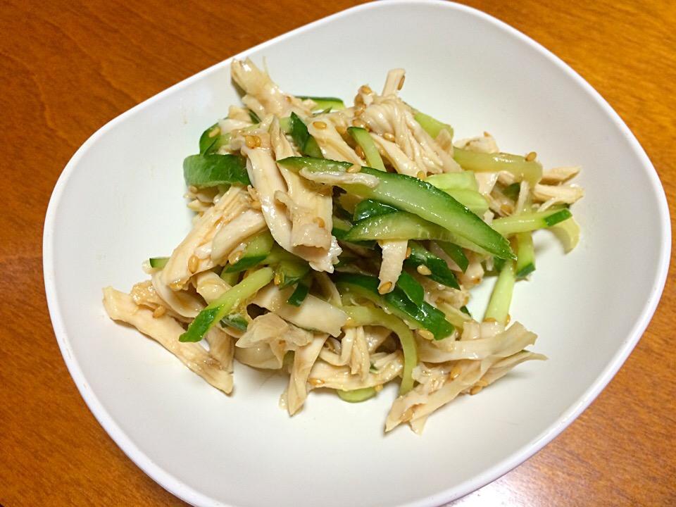 きゅうり ささみ 中華 ささみときゅうりの春雨サラダ 作り方・レシピ