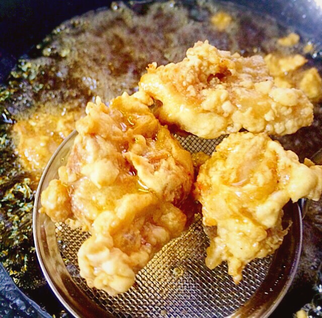 とり天 大分県名物 Japanese  style fried chicken tenpura