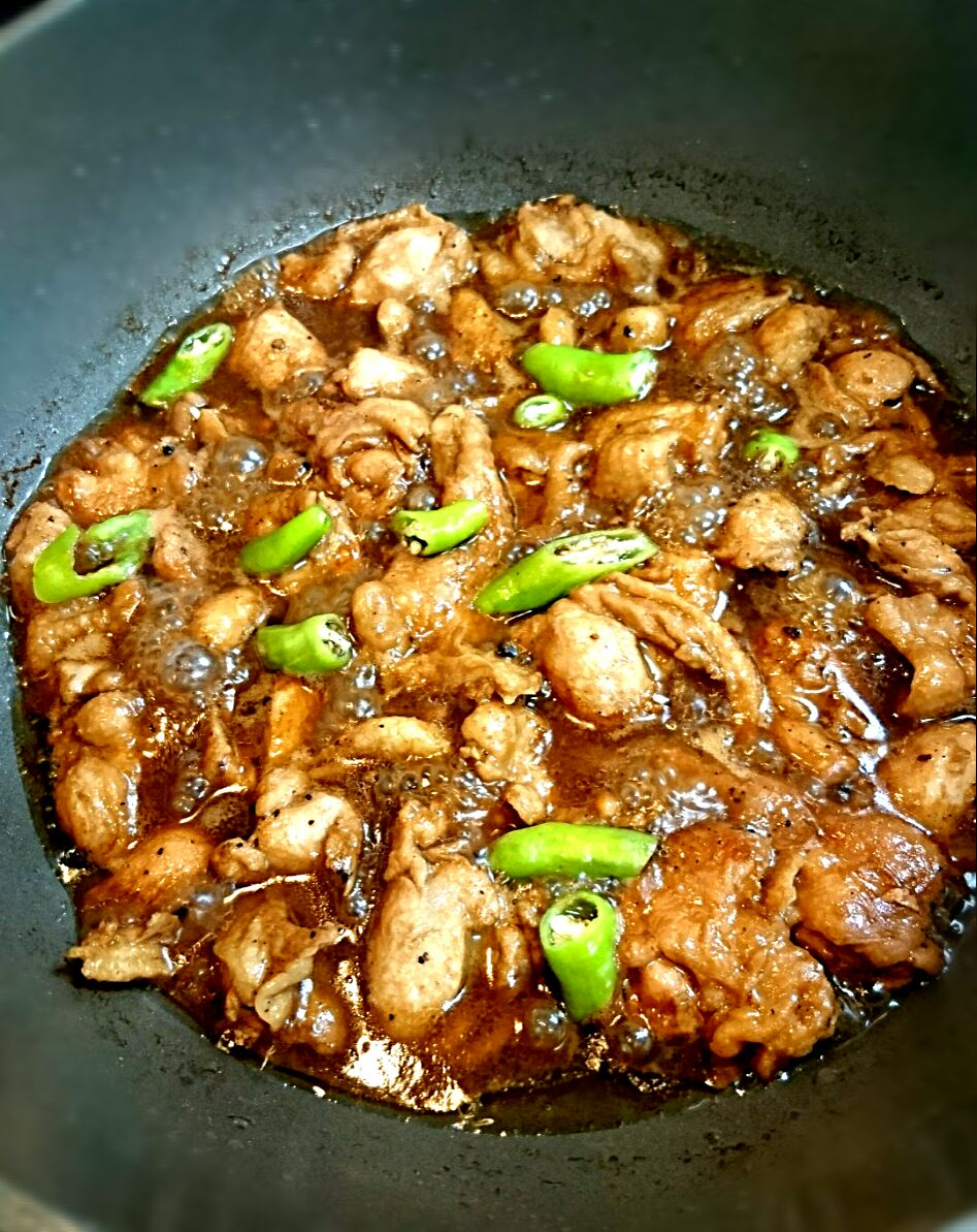10/14 chicken adobo again  sarap sarap
