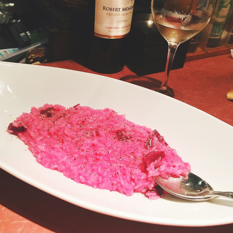 Pink Risotto💟