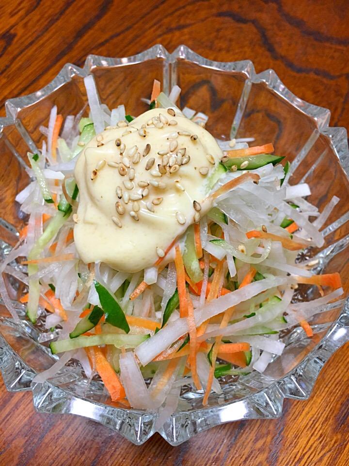 大根 サラダ