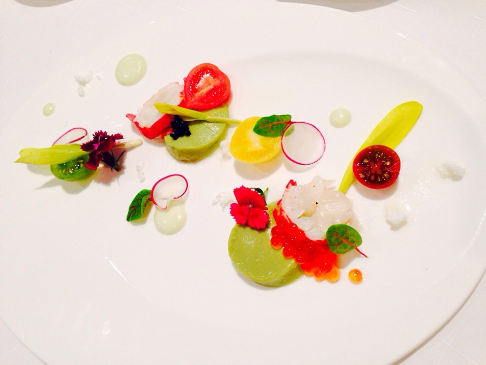 Tomatoes#Lobster#Avocado mousse#