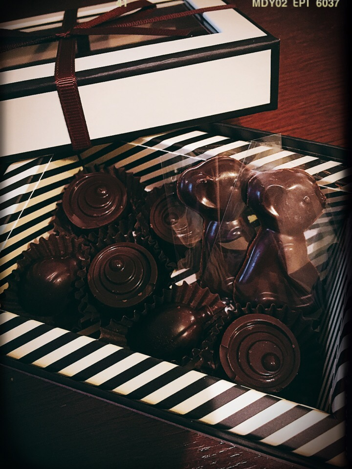 Valentine chocolate