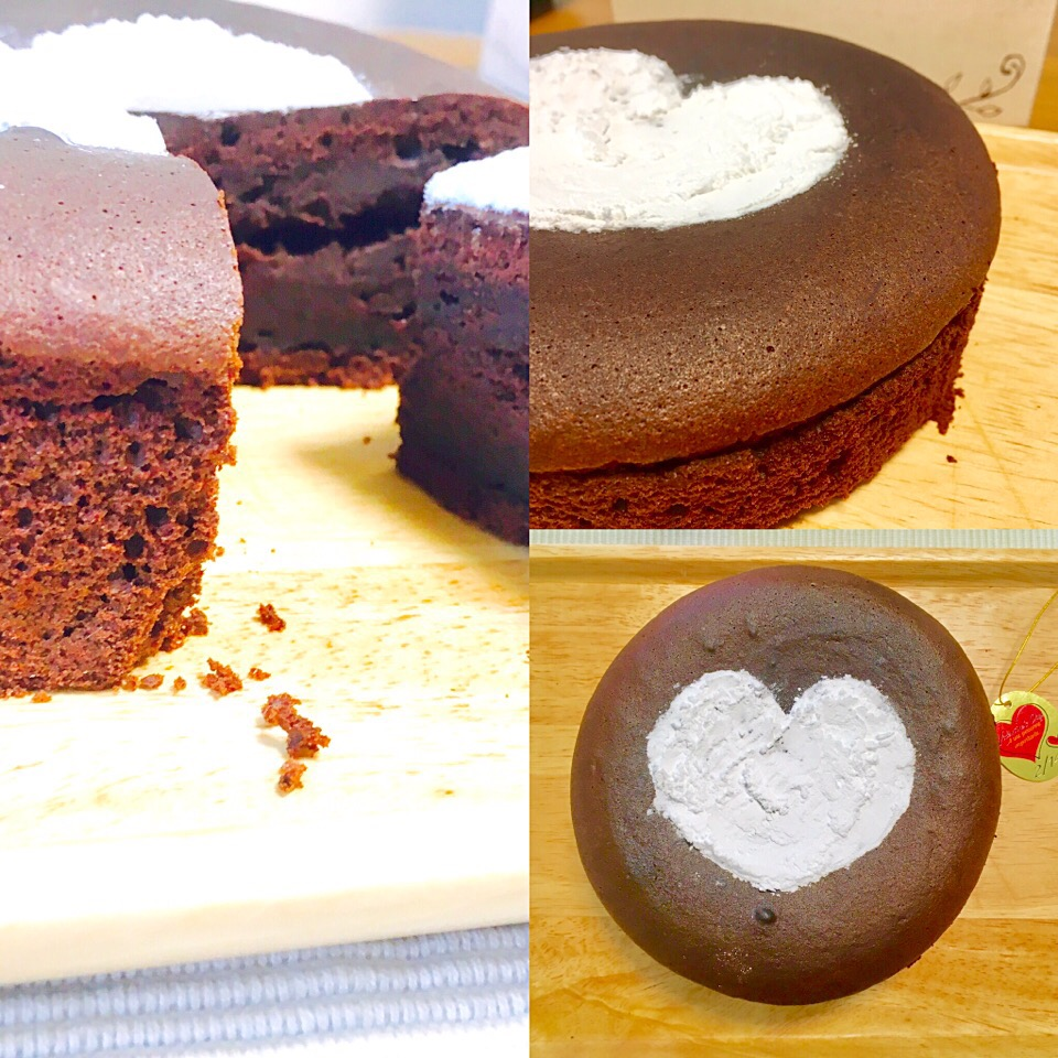 ♡Gateau chocolat With LOVE.♡(〃ω〃)