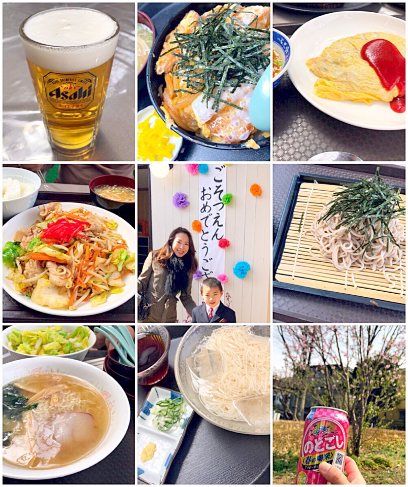 kindergarten graduation ceremony🎓卒園式からのぉ乾杯🍻
