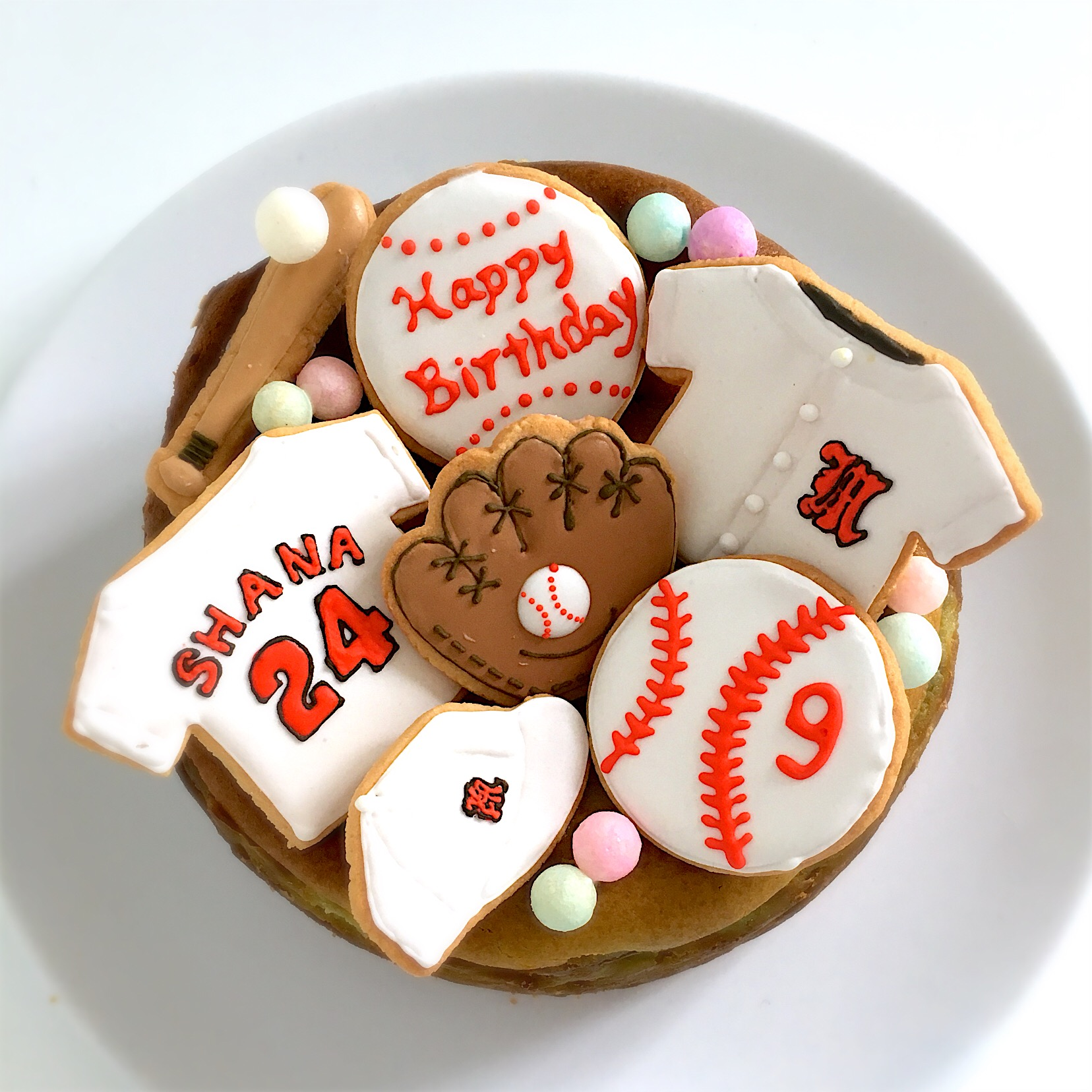 野球少年甥っ子9歳のバースデーケーキ抹茶チーズケーキ チーハ Snapdish スナップディッシュ Id 88fcua