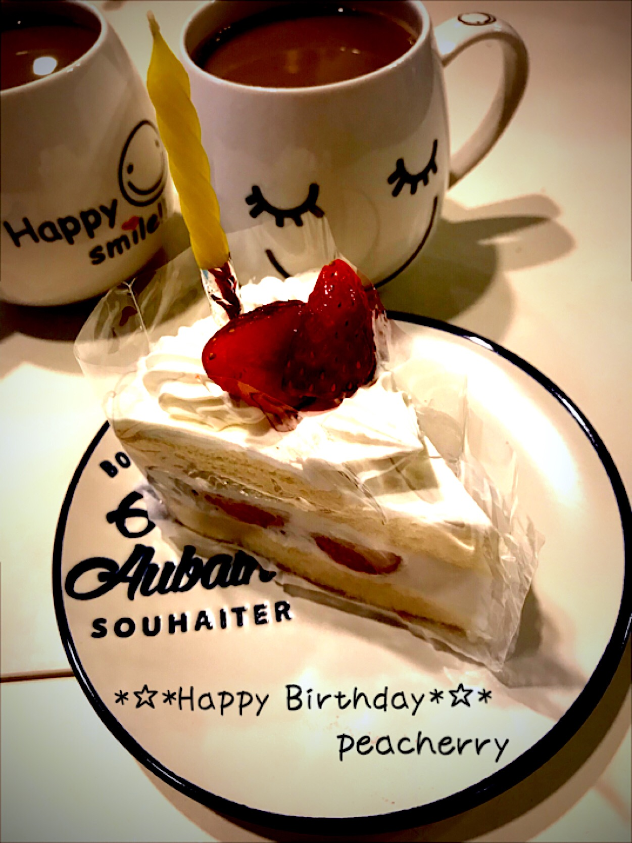 .*・゚☆Happy(♡˙︶˙♡)Birthday☆゚・*.旦那様。