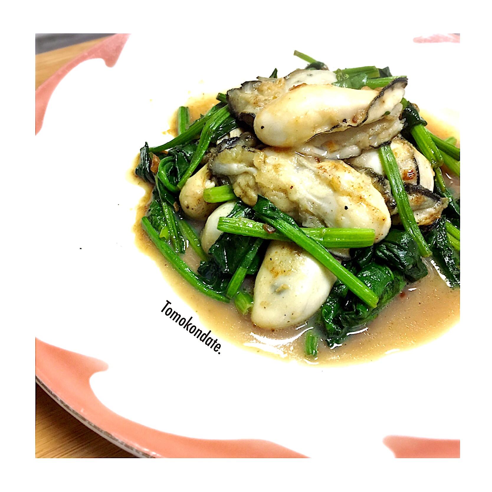 ソテー 牡蠣
