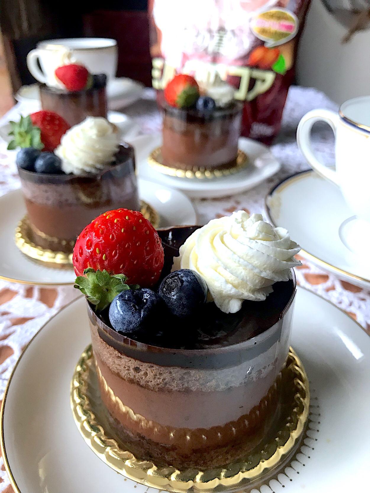 チョコレート ムース