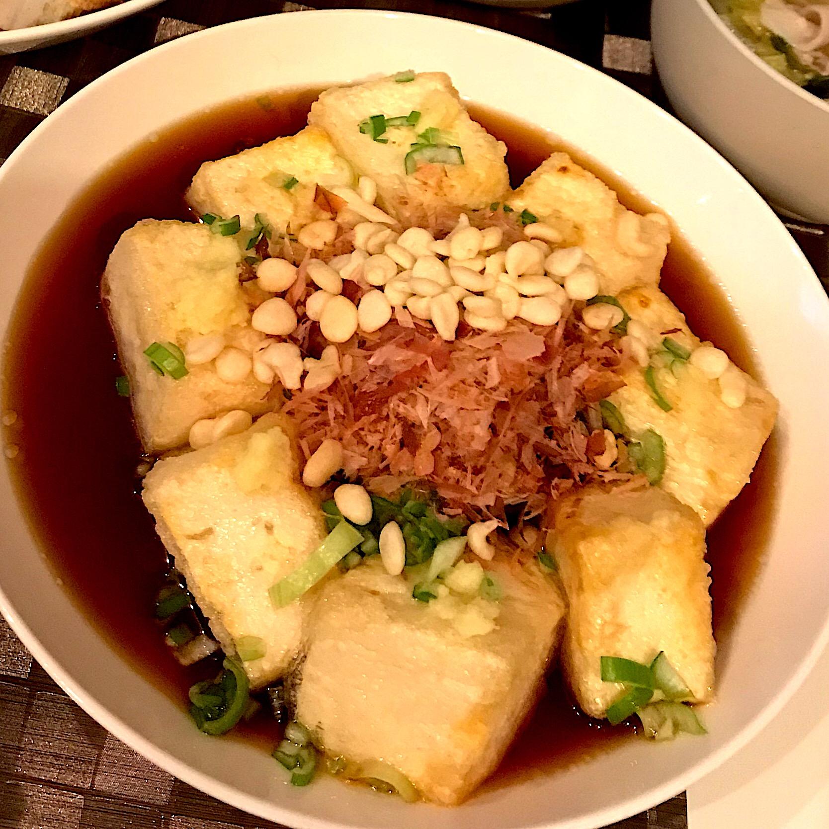 出し レシピ 揚げ 豆腐