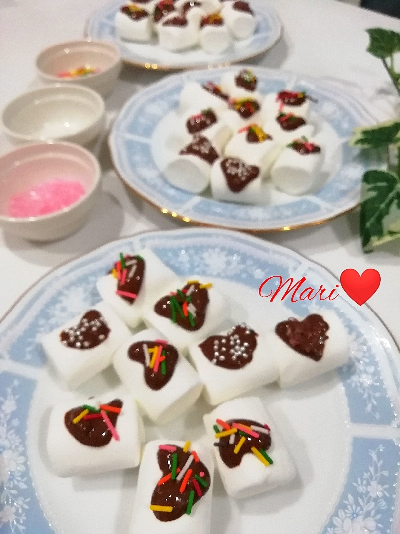 マシュマロ レシピ チョコ