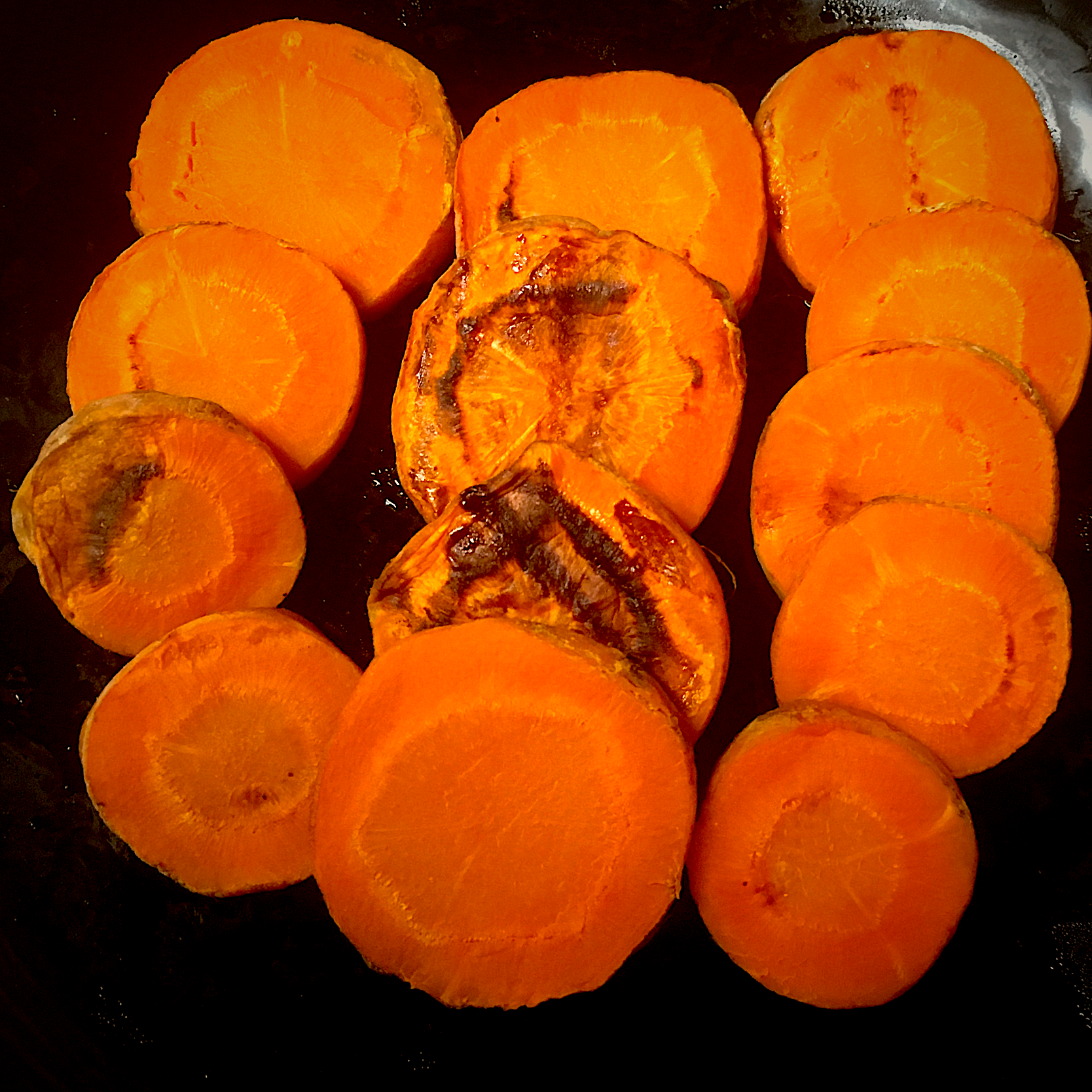 Grilled Sliced Carrot: Healthy and Delicious