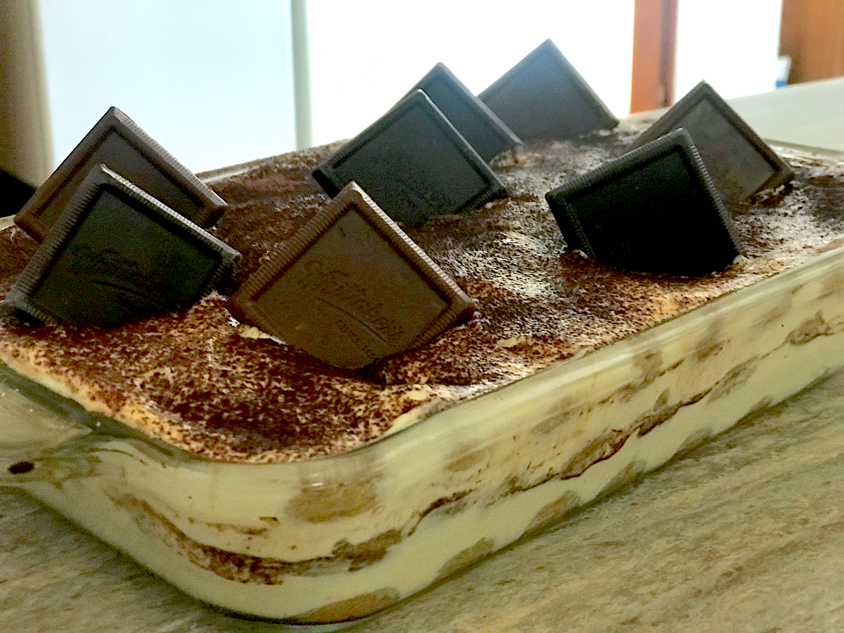 Tiramisu New Years sweet 2020