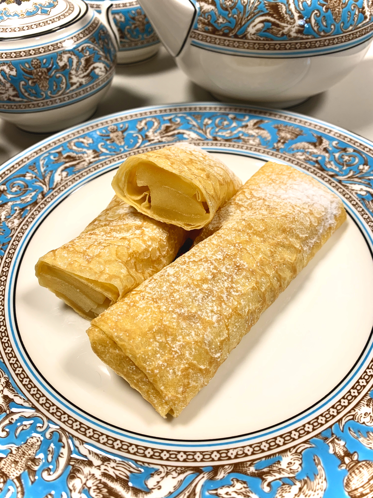 Honey Apple Crepes