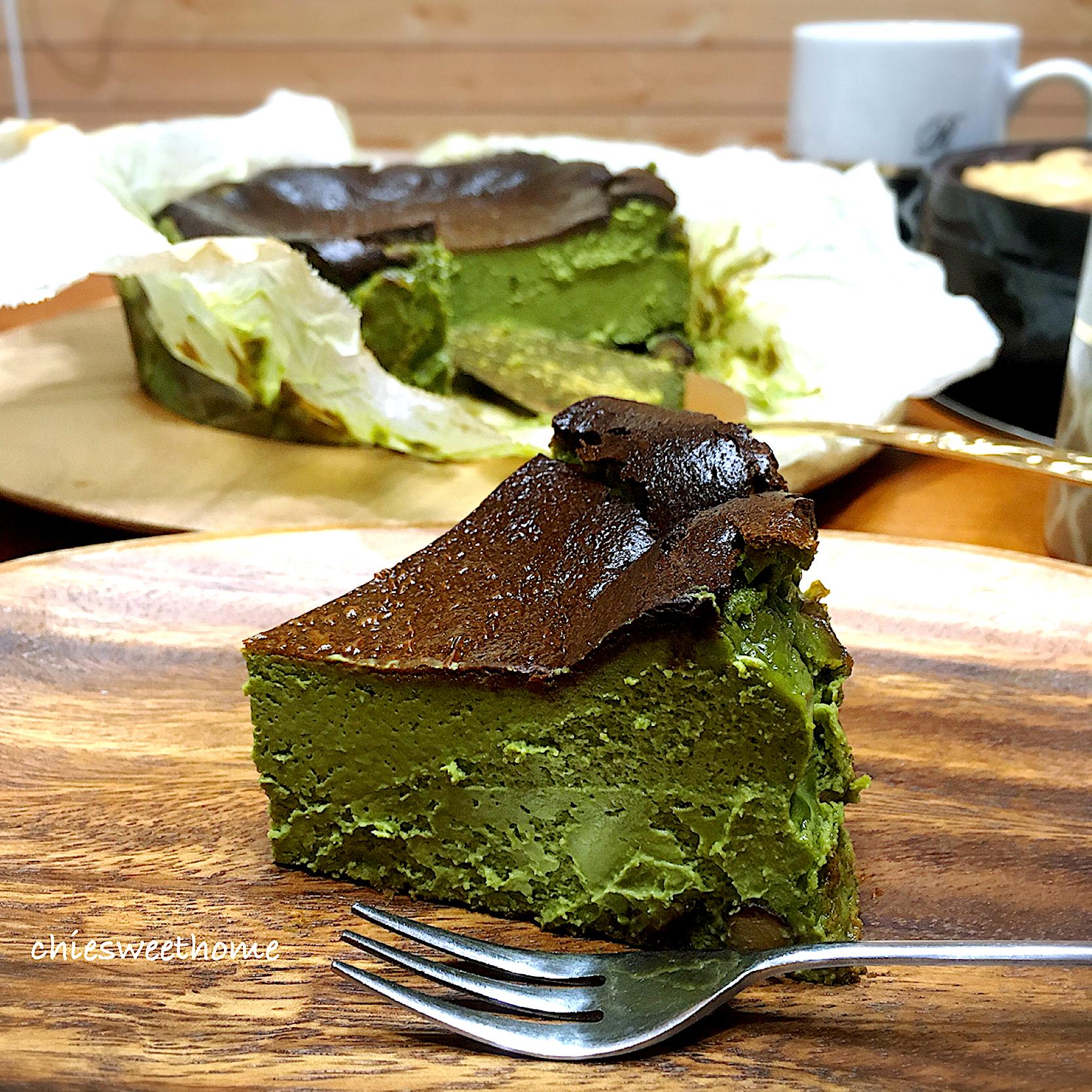 ケーキ レシピ チーズ バスク
