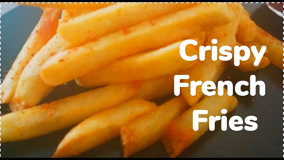 Crispy French fries recipe.