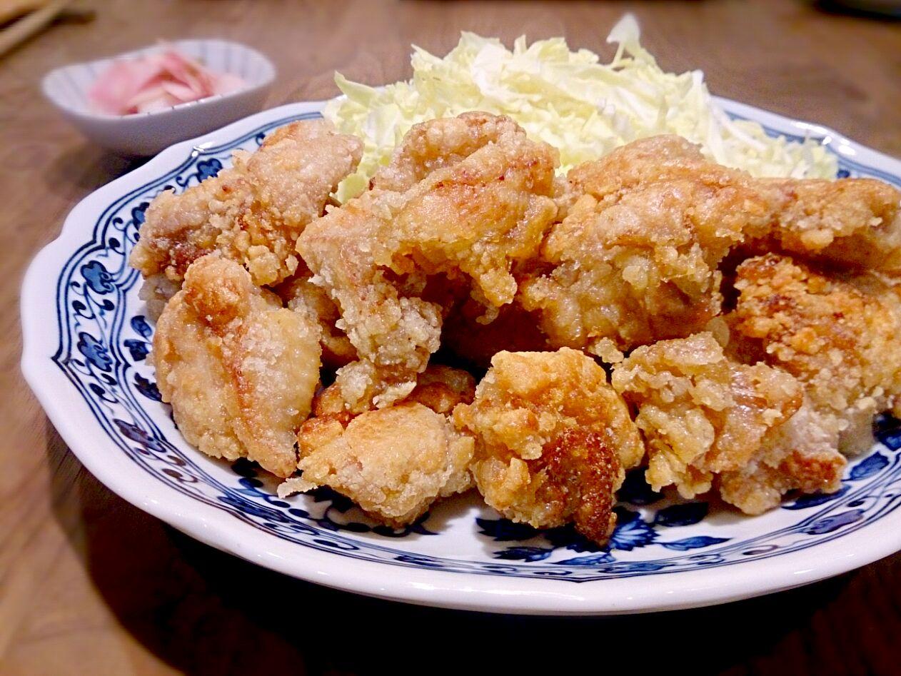 揚げ 鶏 の 唐