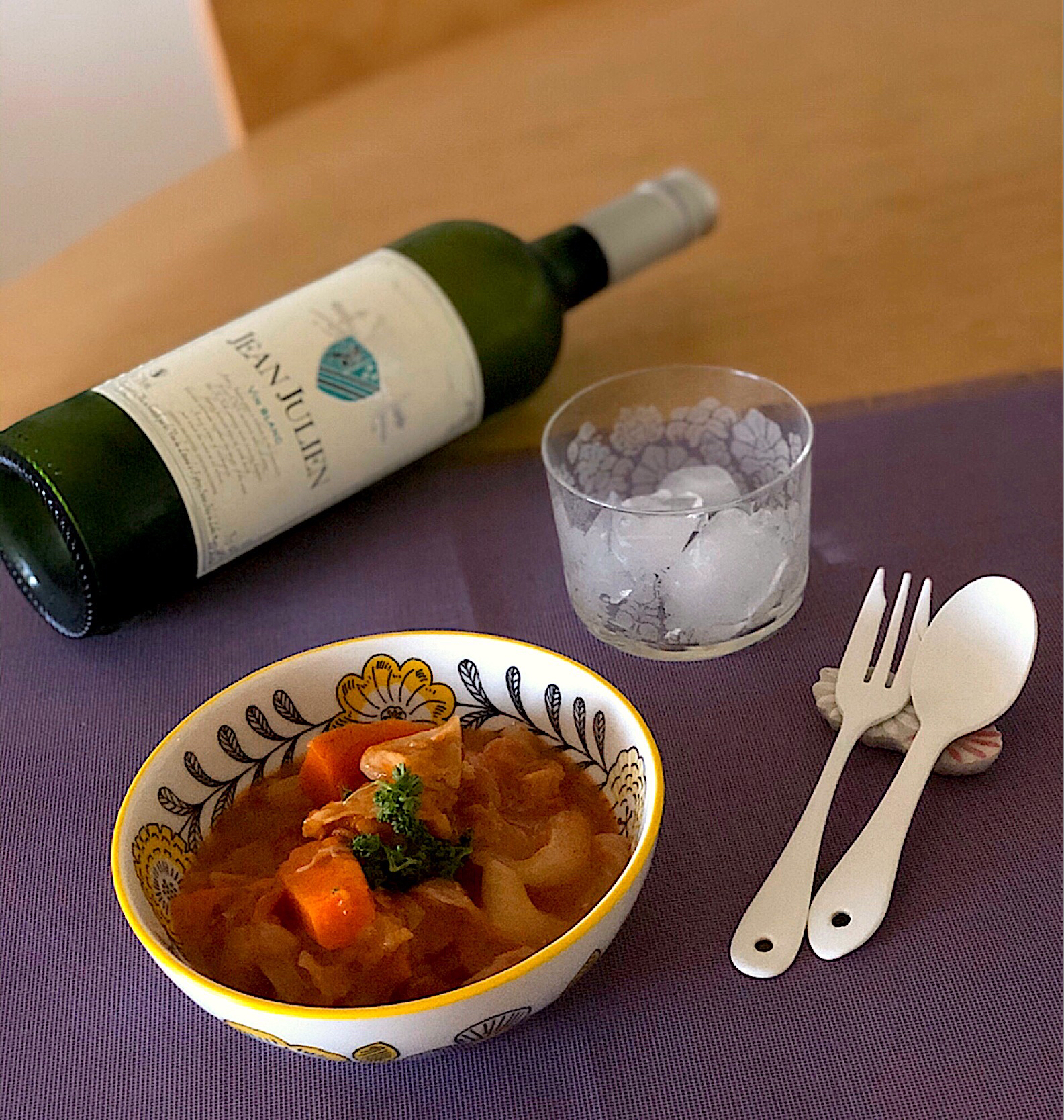 Chicken Stew With vegetables, Wine🍅🌿/チキンと野菜の煮込み