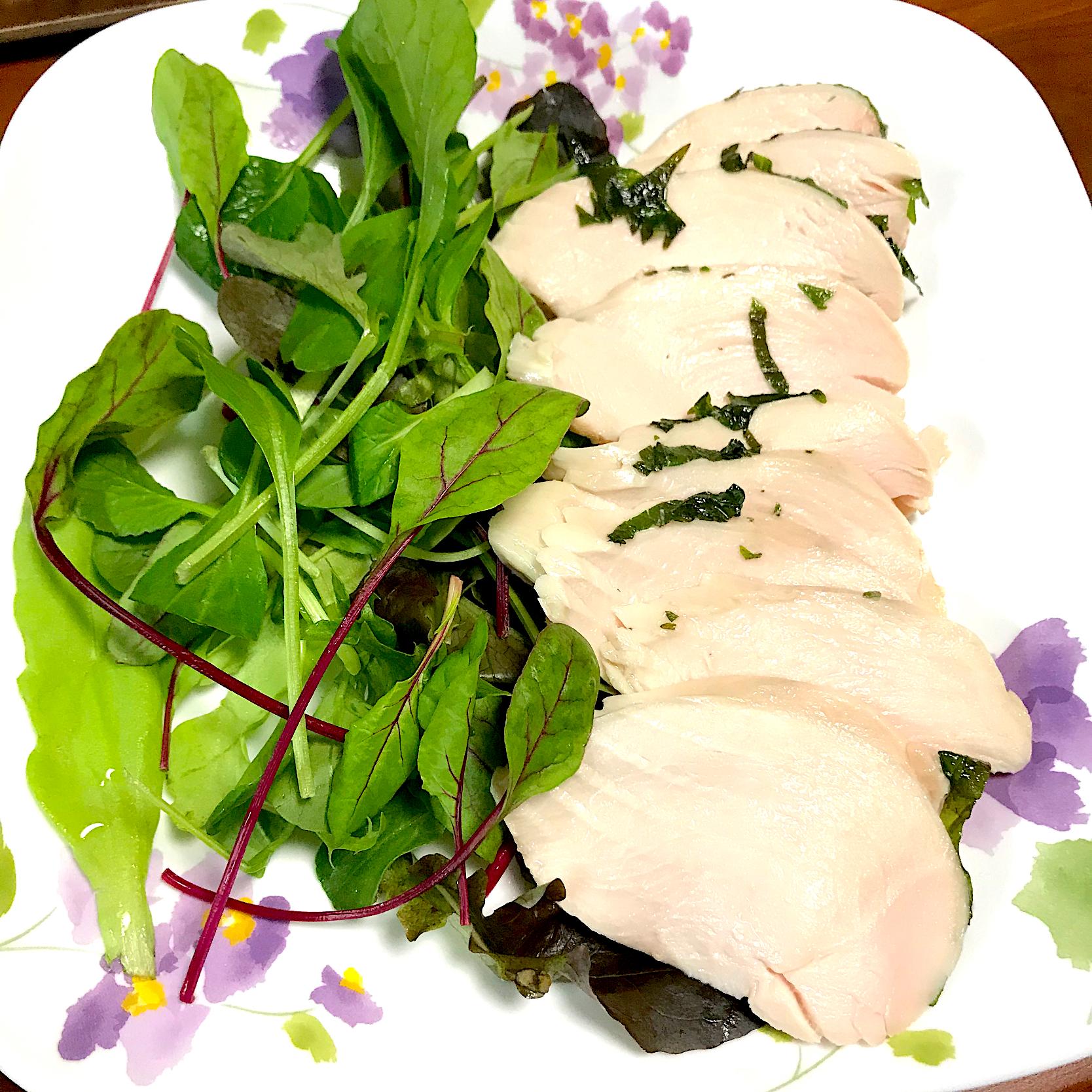 鶏 胸 肉 サラダ チキン