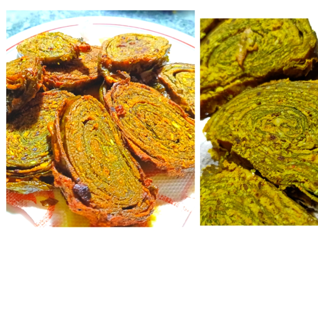 Colocasia Leaf Fritters