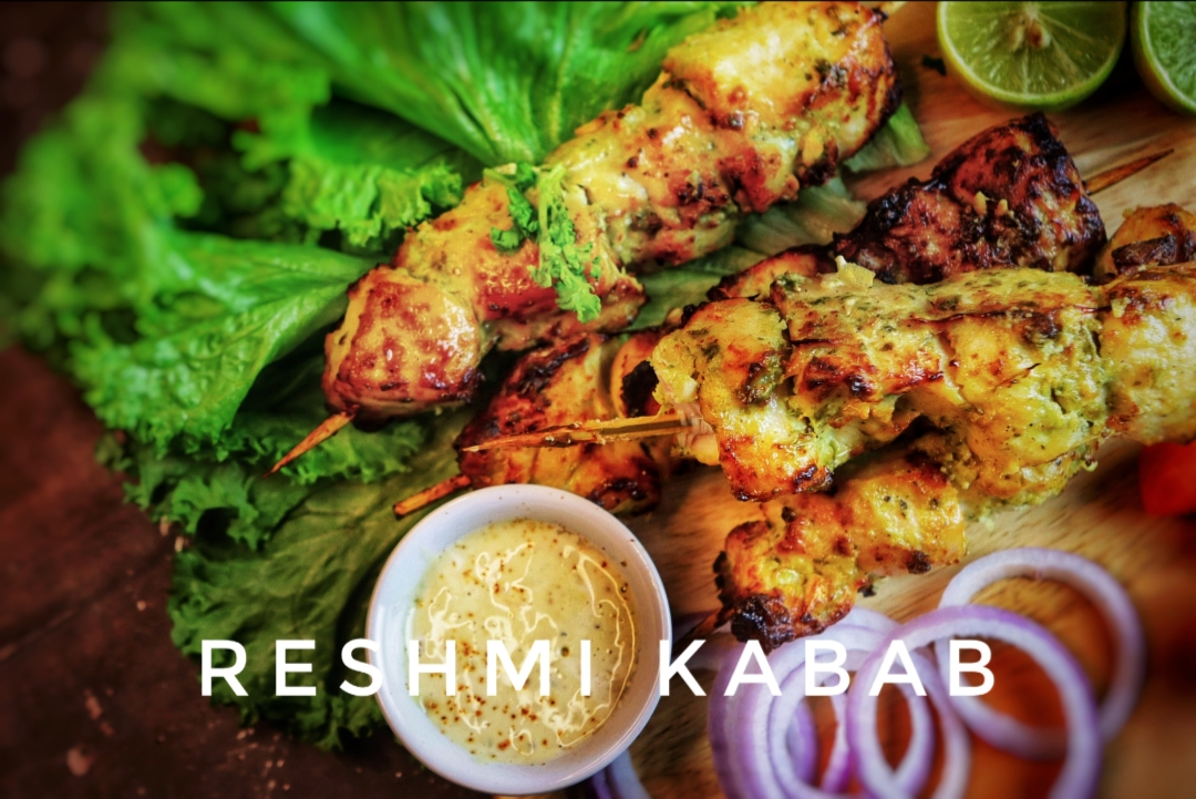 Chicken RESHMI kabab using creamcheese