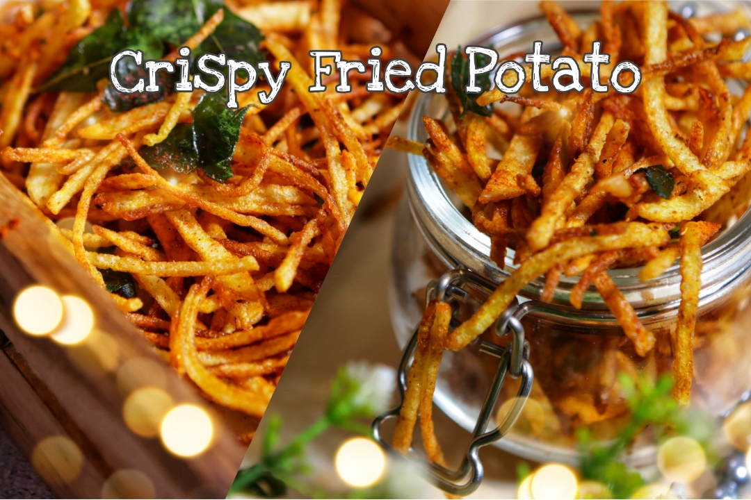 crispy fried POTATO