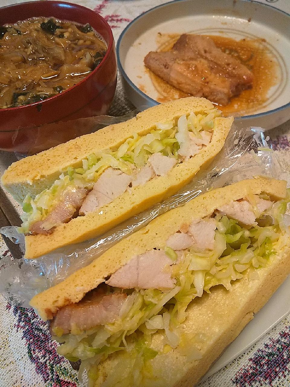 サンドイッチ パン から お 蒸し