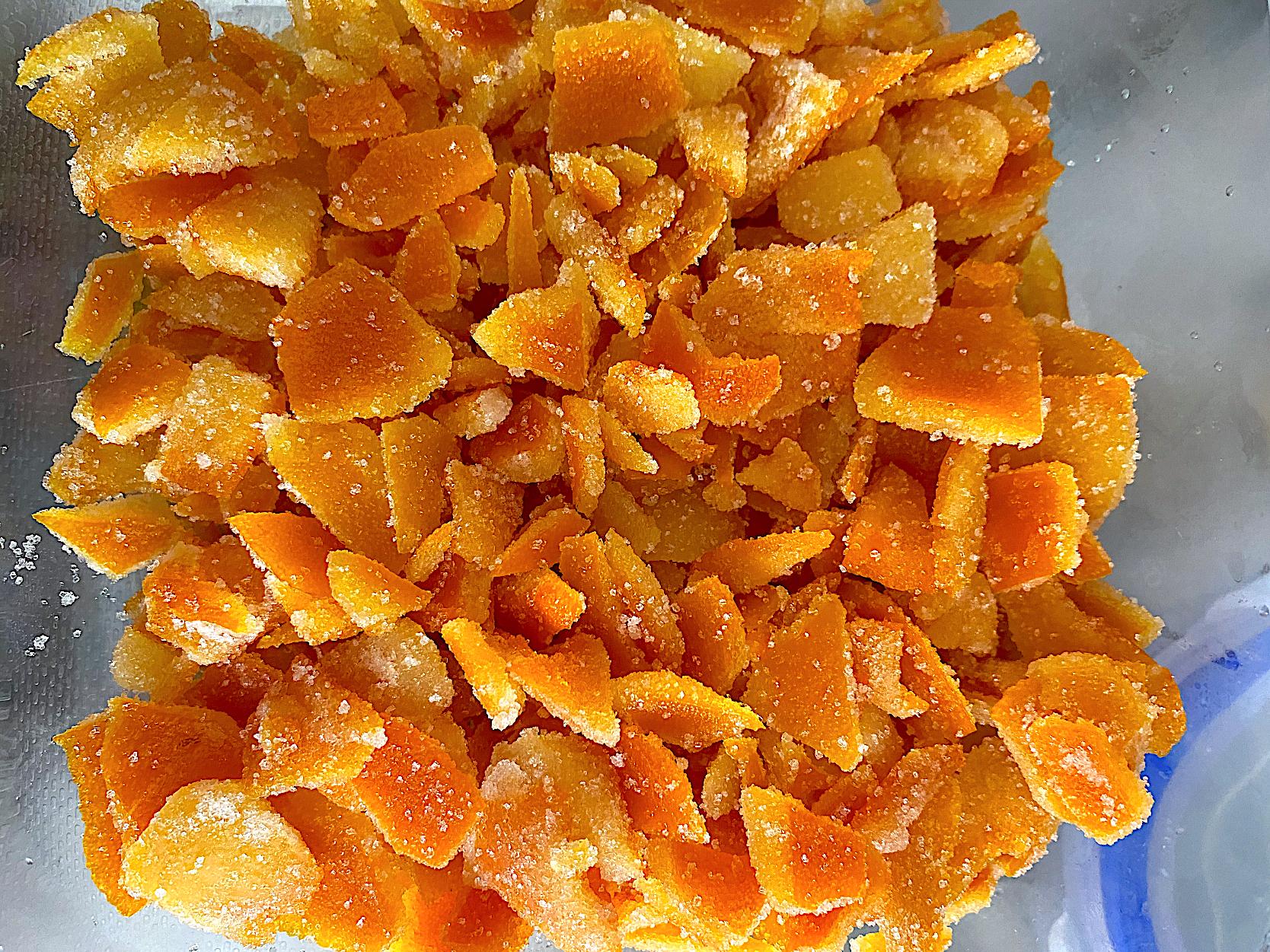 オレンジ ピール